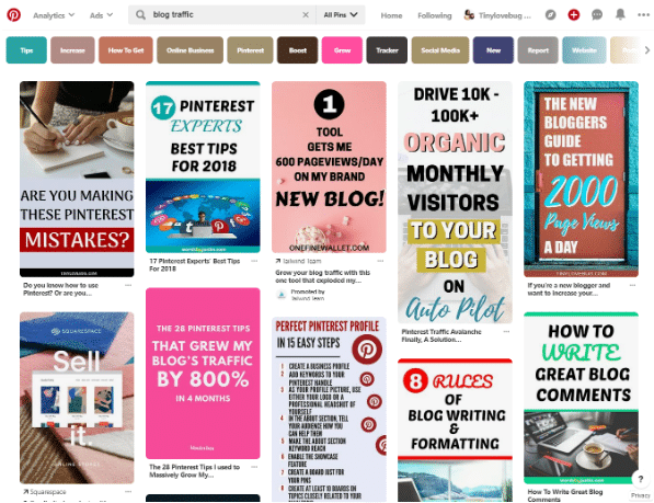 How to Choose Pinterest Board Names to Get More Blog Traffic (Today
