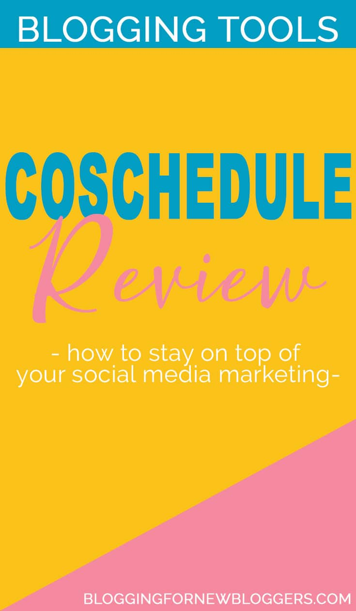 CoSchedule review, this is one of the best social media marketing tips: get a tool that let you automate everything! Learn how CoSchedule saves me time and helps me stay on top of my social media marketing! #socialmedia #bloggingtools #bloggingtips