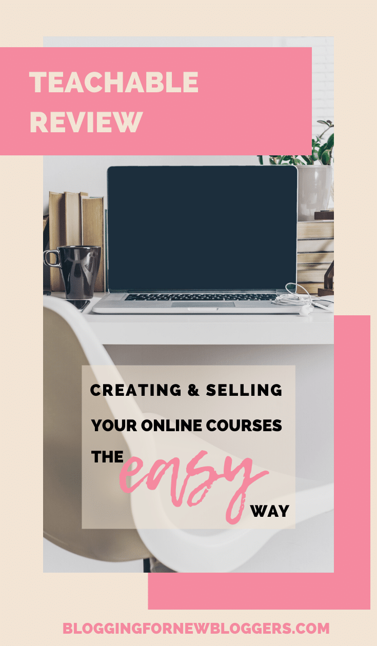 Teachable is the platform where we host all our courses and we absolutely love and recommend. In this Teachable review I show you why. Teachable is the best platform to host and sell your online courses. If you want to make money blogging, creating your own online course is the way to go. But you need the right platform! Selling online courses has never been easier. #makemoneyblogging #onlinecoursecreation #teachable